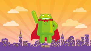 Android Superman Wallpaper