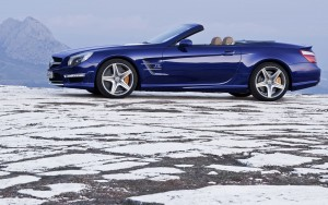 Benz Coupe HD Wallpaper